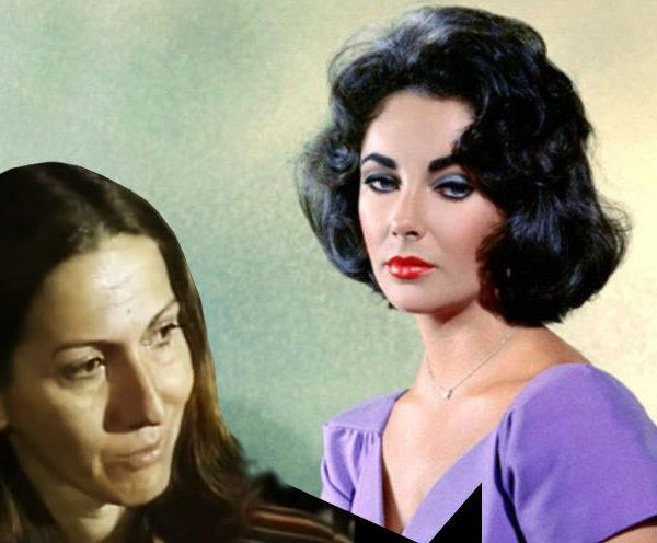 Sandra Campos, um show interpretando Elizabeth Taylor.